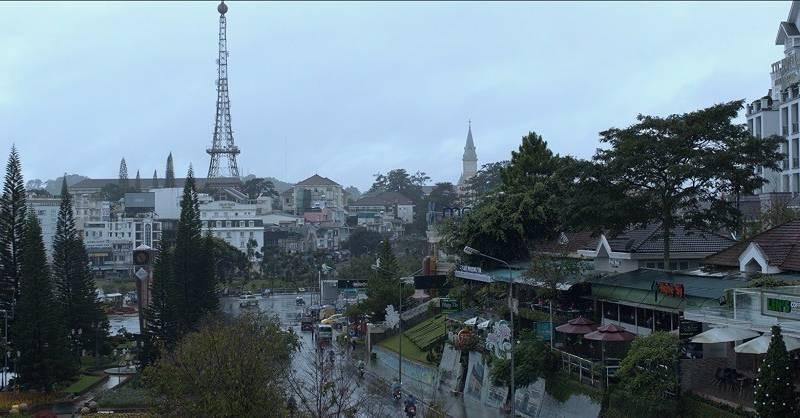 Thành phố Đà Lạt yên bình xuất hiện trong teaser Lôi Báo