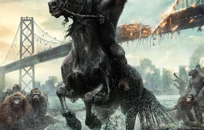 Dawn of the Planet of the Apes là bộ phim bom tấn sẽ ra mắt trong tuần sau.