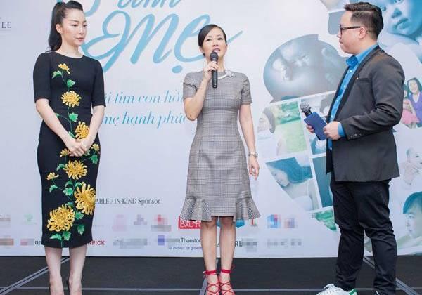 Ca sĩ Hồng Nhung chia sẻ đồng cảm với những người mẹ có con mắc bệnh tim bẩm sinh.