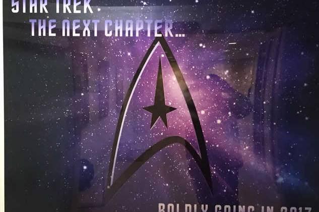 Teaser poster Star Trek Series 2017.
