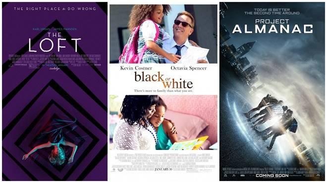 Ba bộ phim mới sắp sửa được khởi chiếu kể từ cuối tuần này tại Bắc Mỹ.