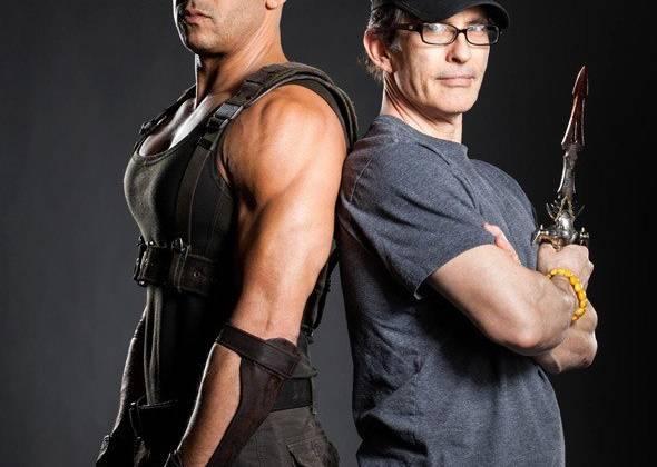 Vin Diesel (trái) là một trong những ngôi sao nổi bật của mùa phim hè năm nay.