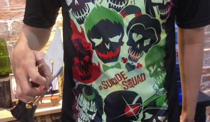 Mẫu áo Suicide Squad - Size: L