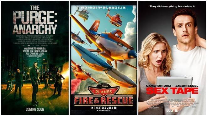 Các phòng vé Bắc Mỹ sẽ chứng kiến ba bộ phim mới ra mắt trong tuần sau.