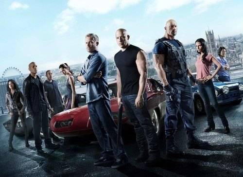 Dàn diễn viên anh tài, mỹ nhân trong Fast & Furious 6. Ảnh: Universal.