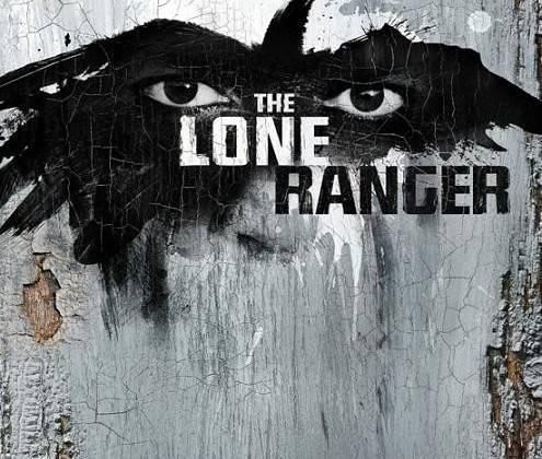 Poster ấn tượng của The Lone Ranger