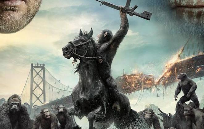 Khỉ và người, hiệp ước hòa bình mỏng manh khởi chiếu tại CGV từ ngày 11/7.