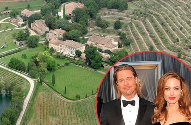Brad Pitt gấp rút chuẩn bị cho lễ thành hôn ở lâu đài Pháp (Nguồn ảnh: Spash News)