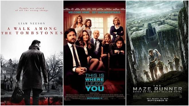 Ba bộ phim mới sẽ ra mắt trong cuối tuần này, hứa hẹn sẽ giúp các phòng vé Bắc Mỹ sôi động trở lại.